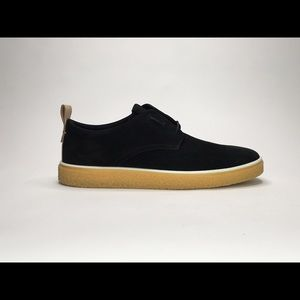 ECCO CREPETRAY MENS NUBUCK LEATHER LACE UP OXFORD